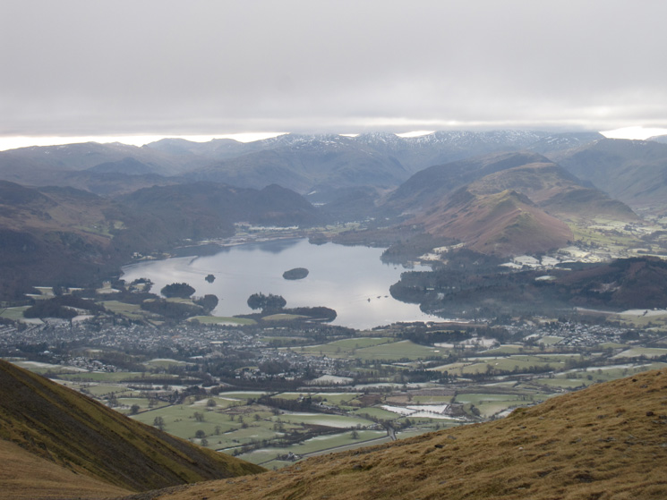 Zooming in on Derwent Water