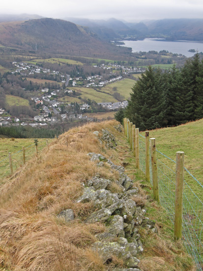 Towards Walla Crag