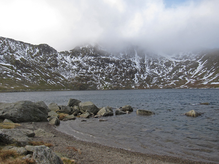 Across Red Tarn to Helvellyn