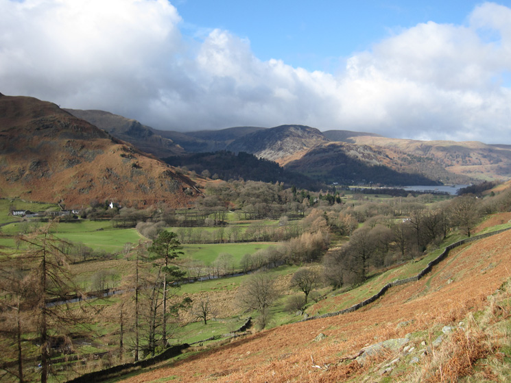 Towards Patterdale from the path to Boredale Hause