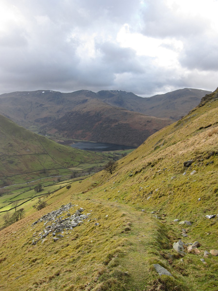 Our descent path, back down to Hartsop