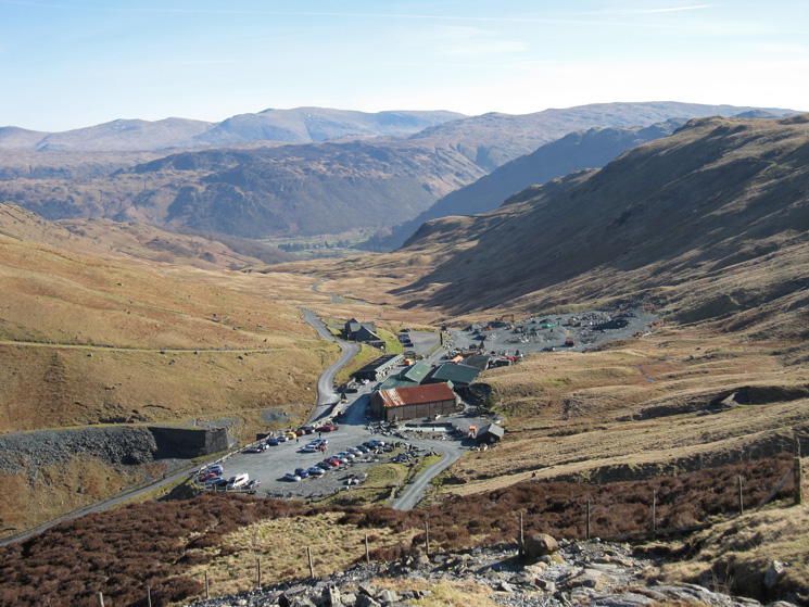 Looking back to Honister Hause