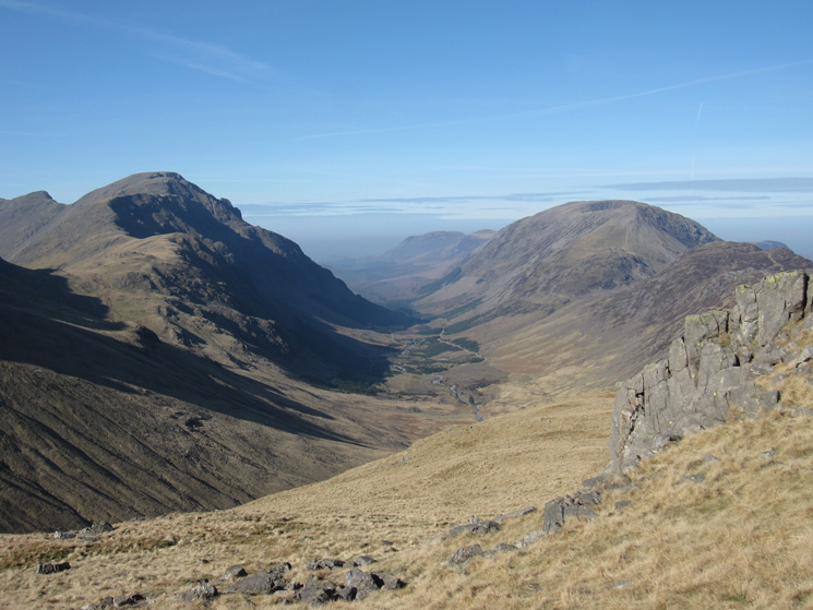 Ennerdale, Pillar on the left and the High Stile ridge on the right