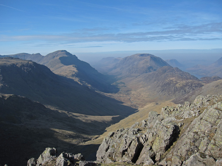 Ennerdale from Green Gable's summit