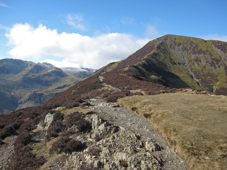 Grisedale Pike from Sleet How