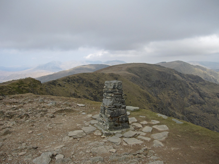 Brim Fell from Coniston Old Man's summit trig point