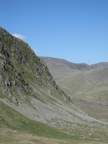 Harter Fell with High Street in the distance
