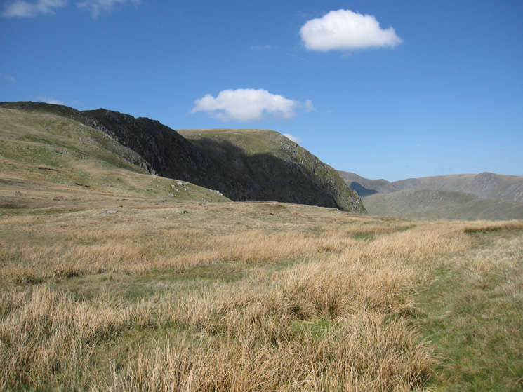 Harter Fell from near the top of Gatescarth Pass