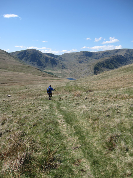 On the Old Corpse Road heading back to Mardale Head