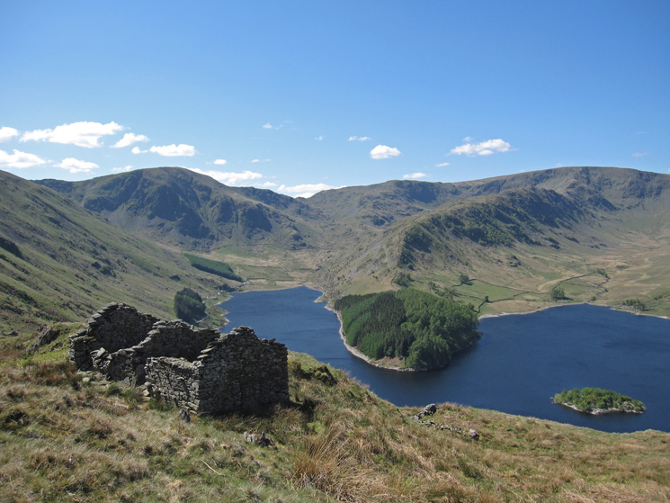 Mardale Head (Harter Fell, Mardale Ill Bell and High Street)