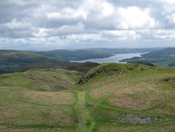 Windermere from Loughrigg's summit