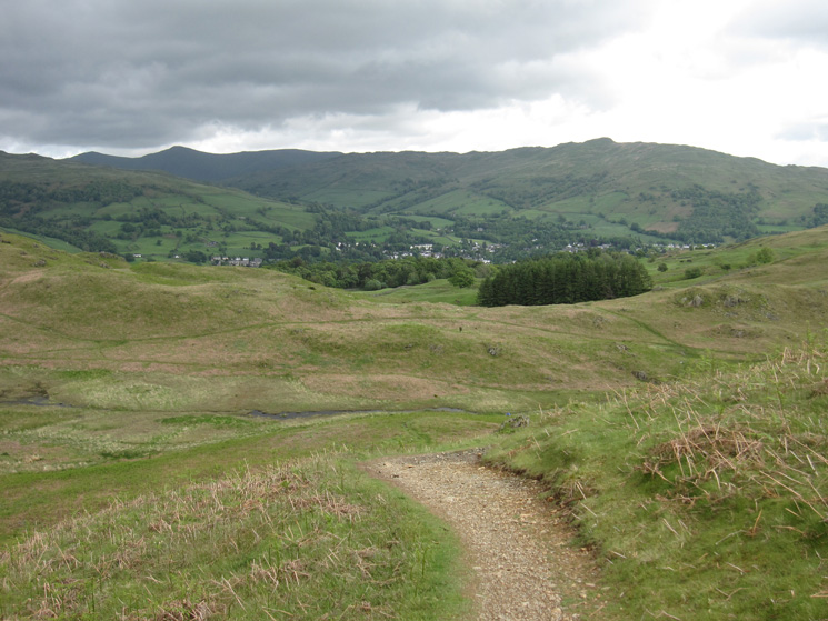 Froswick, Ill Bell and Wansfell merge into one with Ambleside below