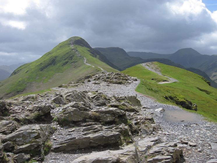 Catbells from Skelgill Bank