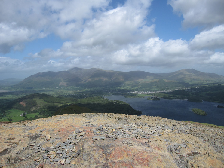 Catbells' summit from low down