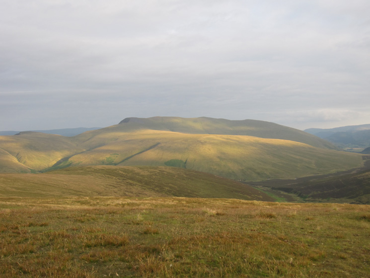 Mungrisdale Common and the 'back' of Blencathra