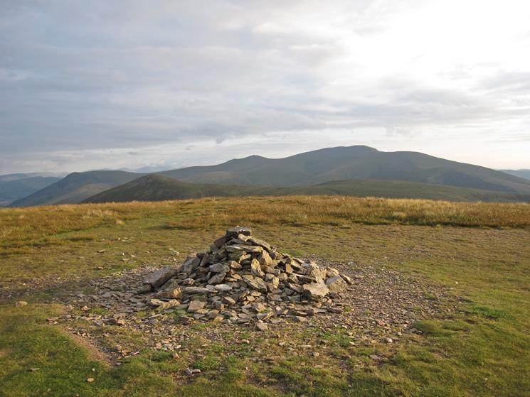 The Skiddaw fells from Knott's summit