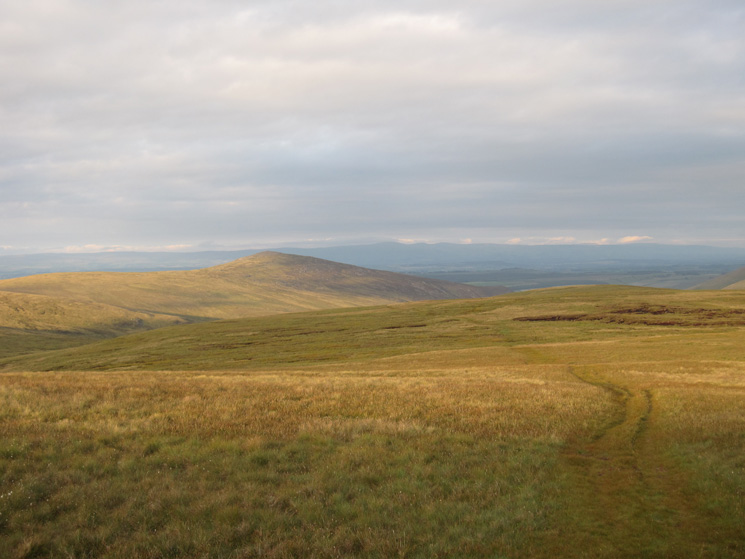 Carrock Fell as we retrace our route from Knott's summit