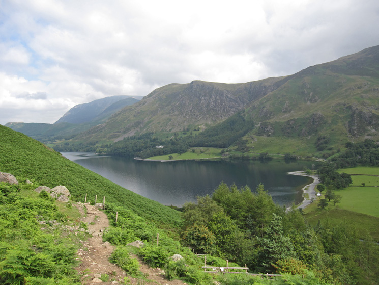 Buttermere from the Scarth Gap path