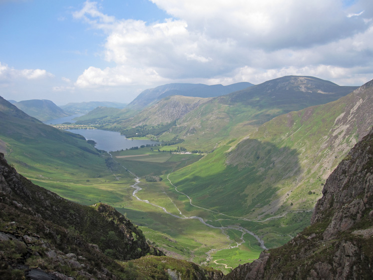 The Buttermere valley