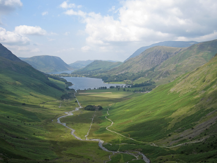 Warnscale Bottom and Buttermere