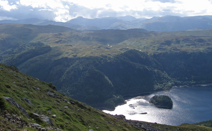 West over Thirlmere
