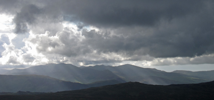 The northwestern fells