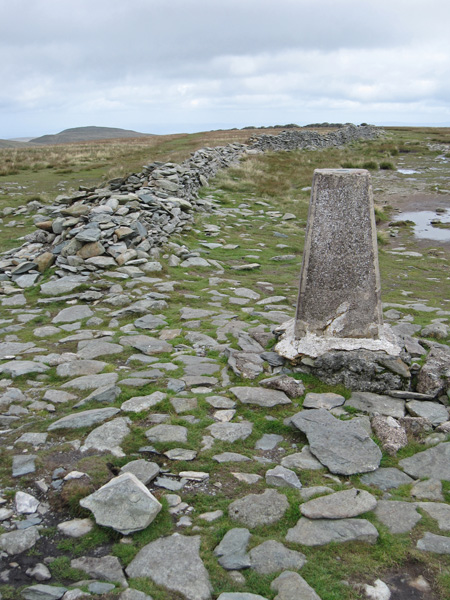High Street's trig point, anyone got some white paint?