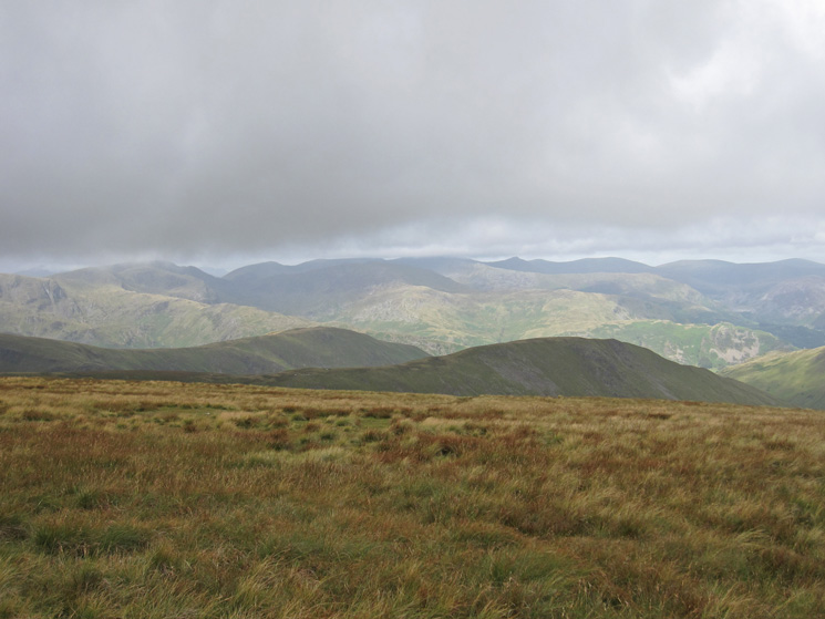 West to the Helvellyn range