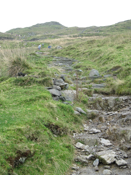 The path up Wansfell Pike