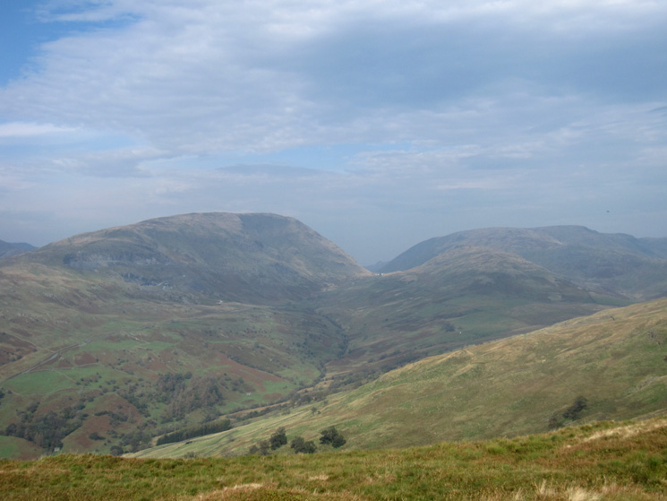 Red Screes, Kirkstone Pass and Caudale Moor