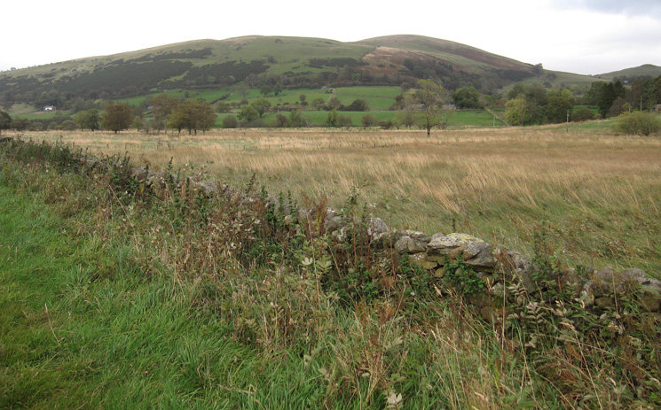 Looking across to Little Mell Fell as we use minor roads to get back to our cars near Brownrigg Farm