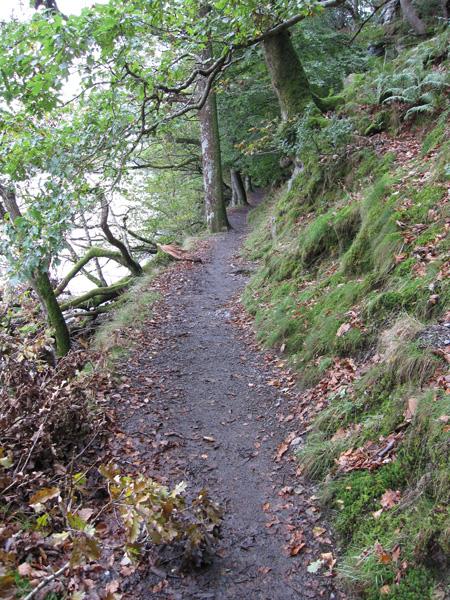The lakeside path below Dalegarth