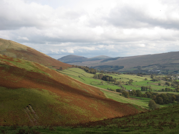 Looking across to the Mell Fells