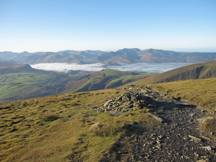 South west from Blease Fell