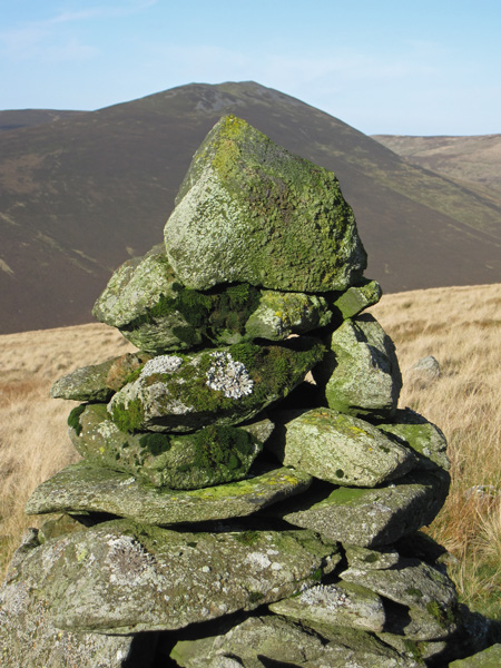 The cairn at grid reference NY307290