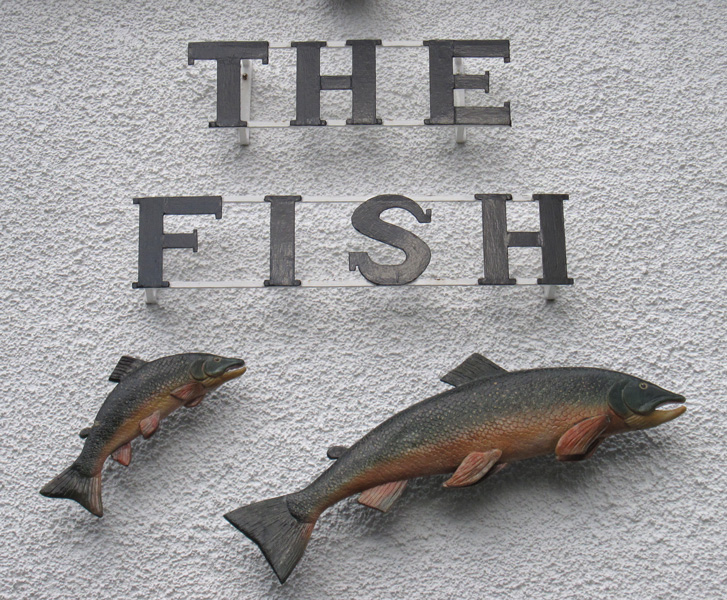 The Fish Hotel, Buttermere village