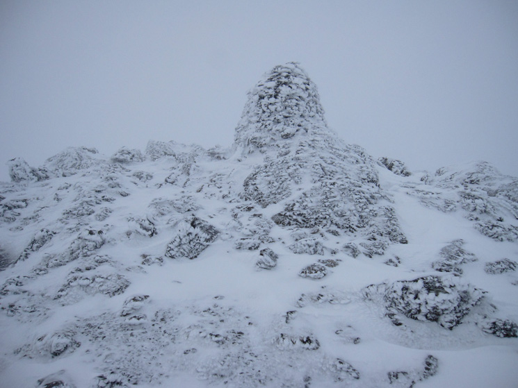 Raise's summit cairn