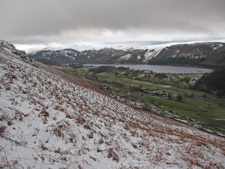 Thirlmere from above Stanah