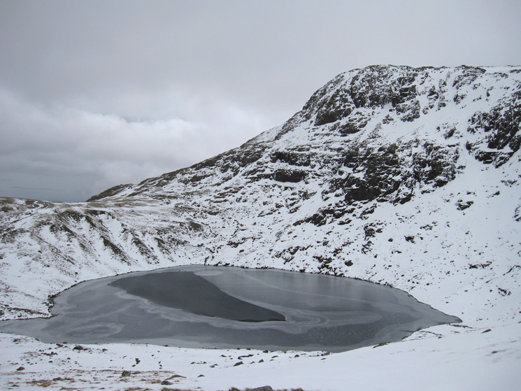 Angle Tarn with Hanging Knotts behind