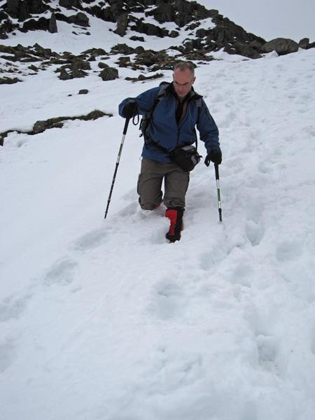 David descending