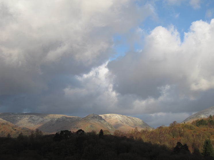 Over Baneriggs to Helm Crag