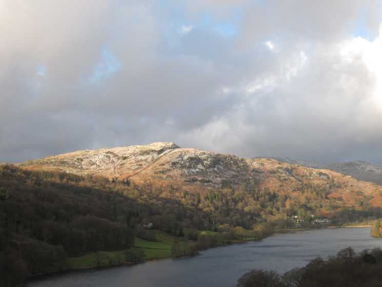 Looking over Grasmere to Silver How