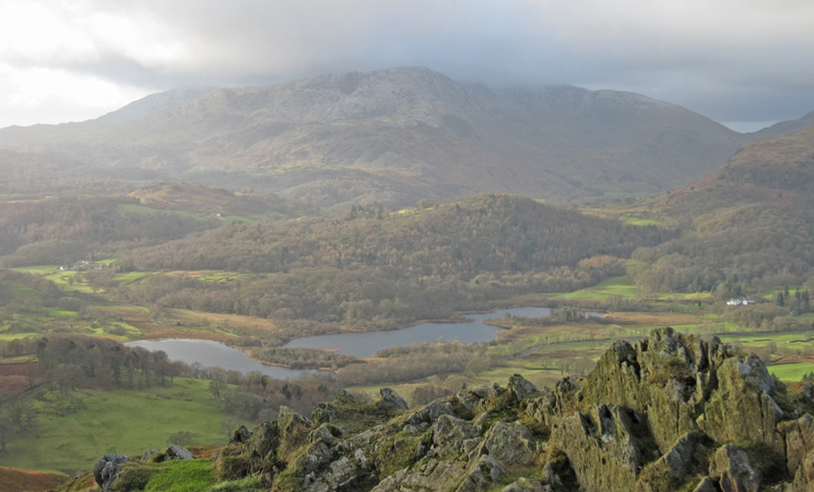 Elter Water and the Coniston Fells