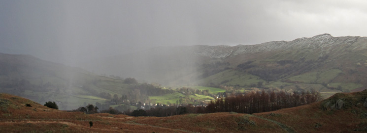 The weather reaches Ambleside