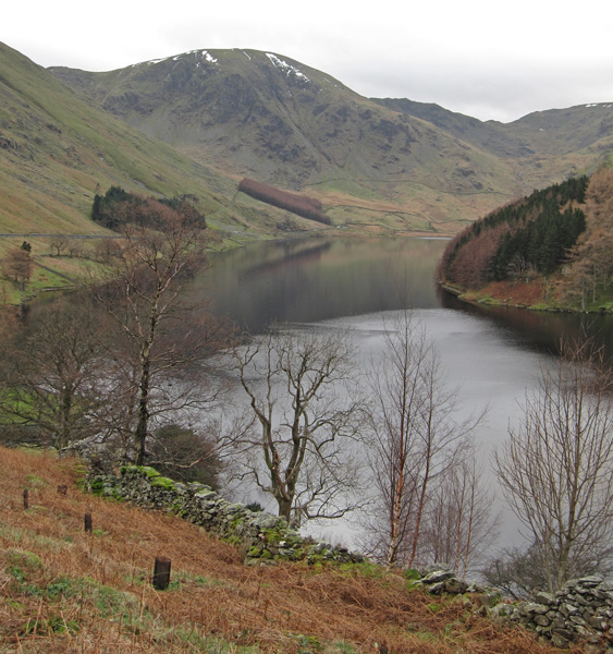 Harter Fell at the head of Haweswater