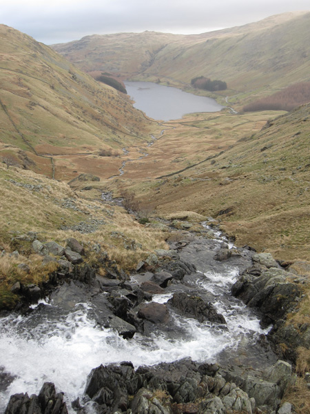 Looking back down on Mardale Head from beside Small Water Beck