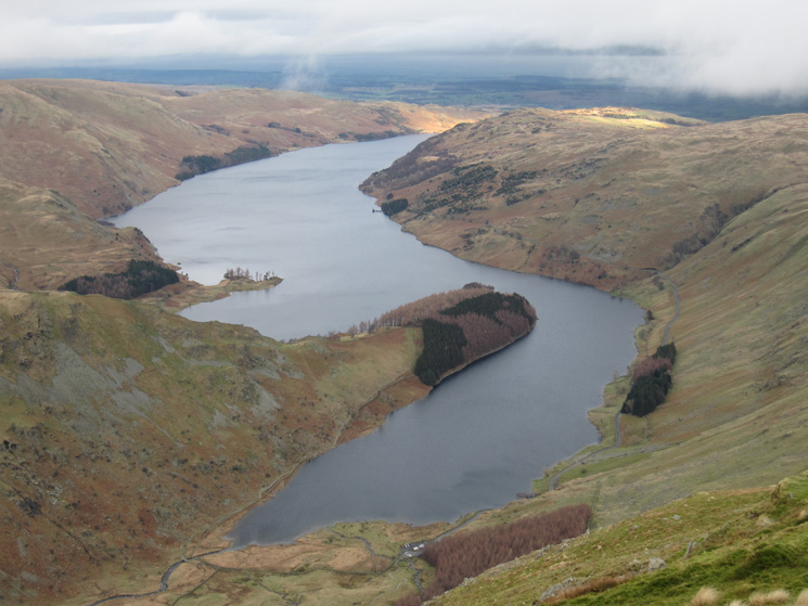 A full Haweswater from Harter Fell