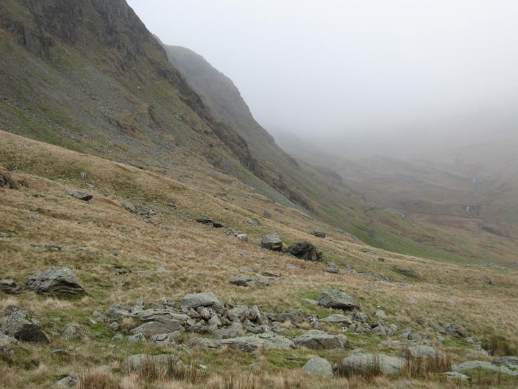 Harter Fell's steep north east side