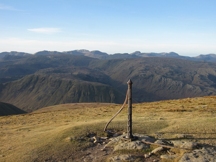 The view west from The Post on Dollywaggon Pike