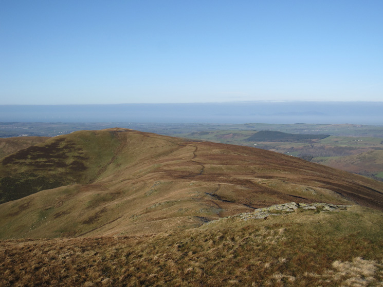 Broom Fell from Lord's Seat's summit